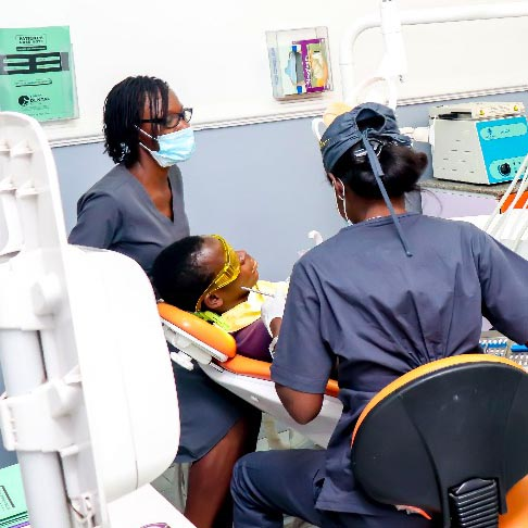 staff at haven dental clinic in lekki lagos